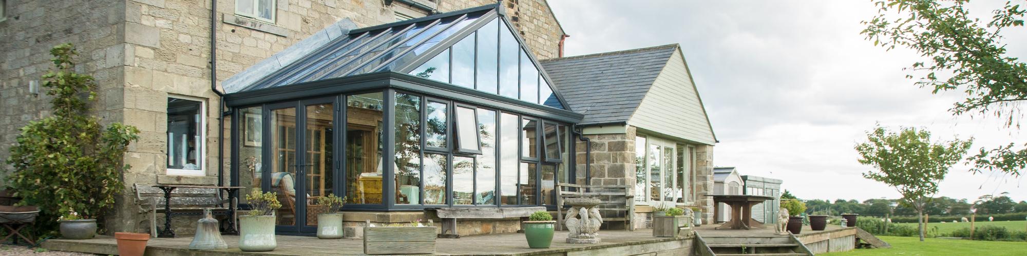 Gable conservatory Sherborne