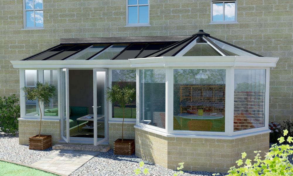 P shape conservatory Sherborne