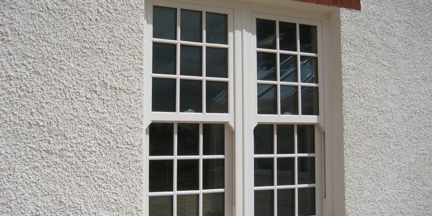 Vertical sliding sash windows Sherborne