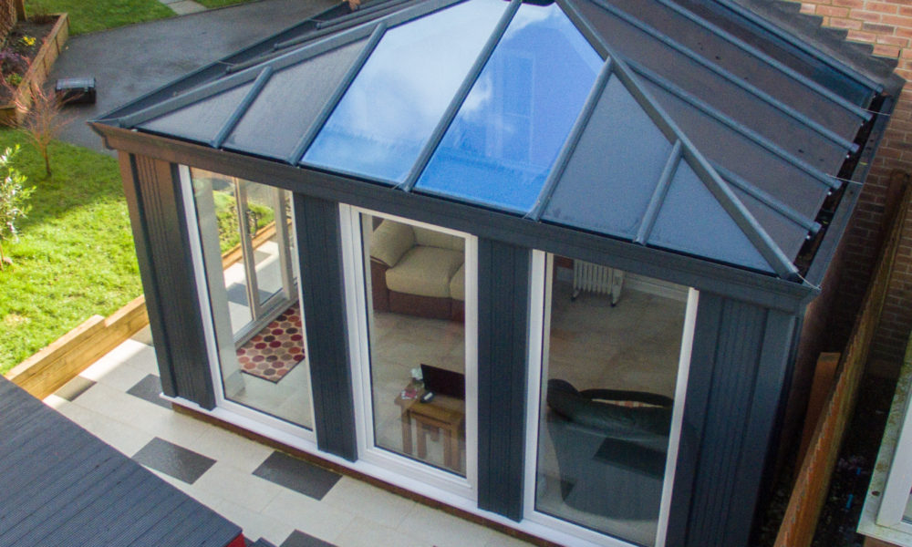 Warm roof conservatory Sherborne
