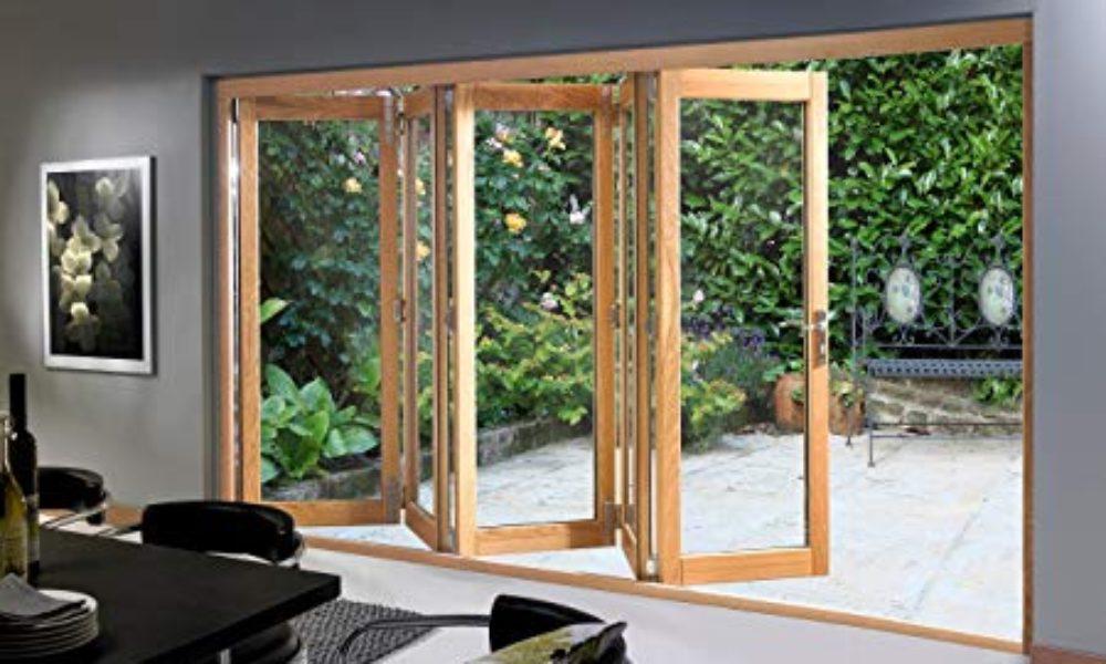 Hardwood Bifold Doors Sherborne
